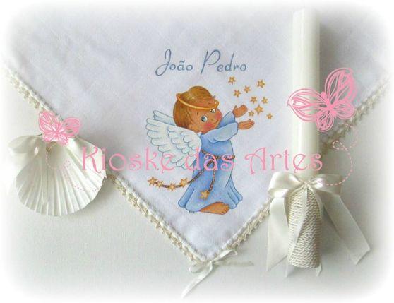 fralda_batismo_pintada à mão